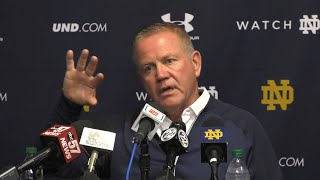 @NDFootball | Brian Kelly Post-Game Press Conference at Louisville (2019)