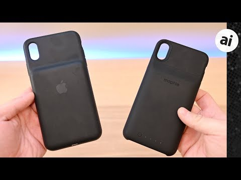 Compared: Apple's Smart Battery Case VS Mophie Juice Pack Access