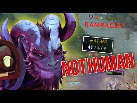 NOT HUMAN - Rikimaru 1 HIT ULTI 41 Kills by nb 7.07 | Dota 2