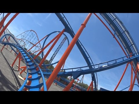 Scream (On-Ride) Six Flags Magic Mountain