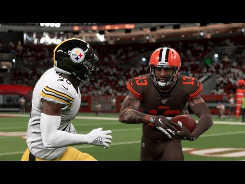 Nfl Thursday Night Football 11 14 Cleveland Browns Vs Pittsburgh Steelers Week 11 Madden 20