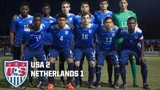 U-17 MNT vs. Netherlands: Highlights - Dec. 4, 2015