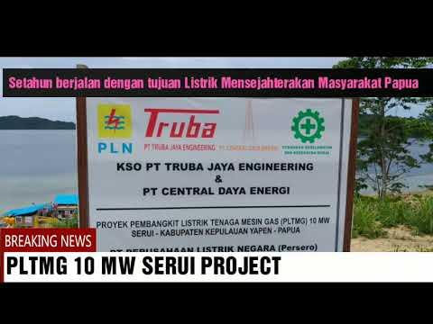 PLTMG 10 MW Serui Project | Proyek PLN Pembangkit Listrik | PT Truba Jaya Engineering | EPC Project
