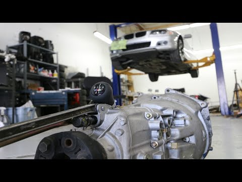 BMW E46 Auto to Manual Transmission Conversion: Parts Needed