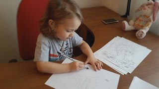 - Рисуют дети Как научить ребенка рисовать Как рисовать красиво