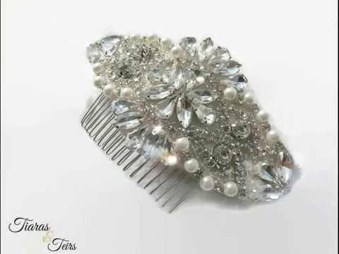 Bespoke wedding hair accessories