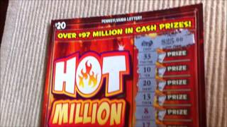 WINNER: $20 PA Lottery Hot Million Instant Win