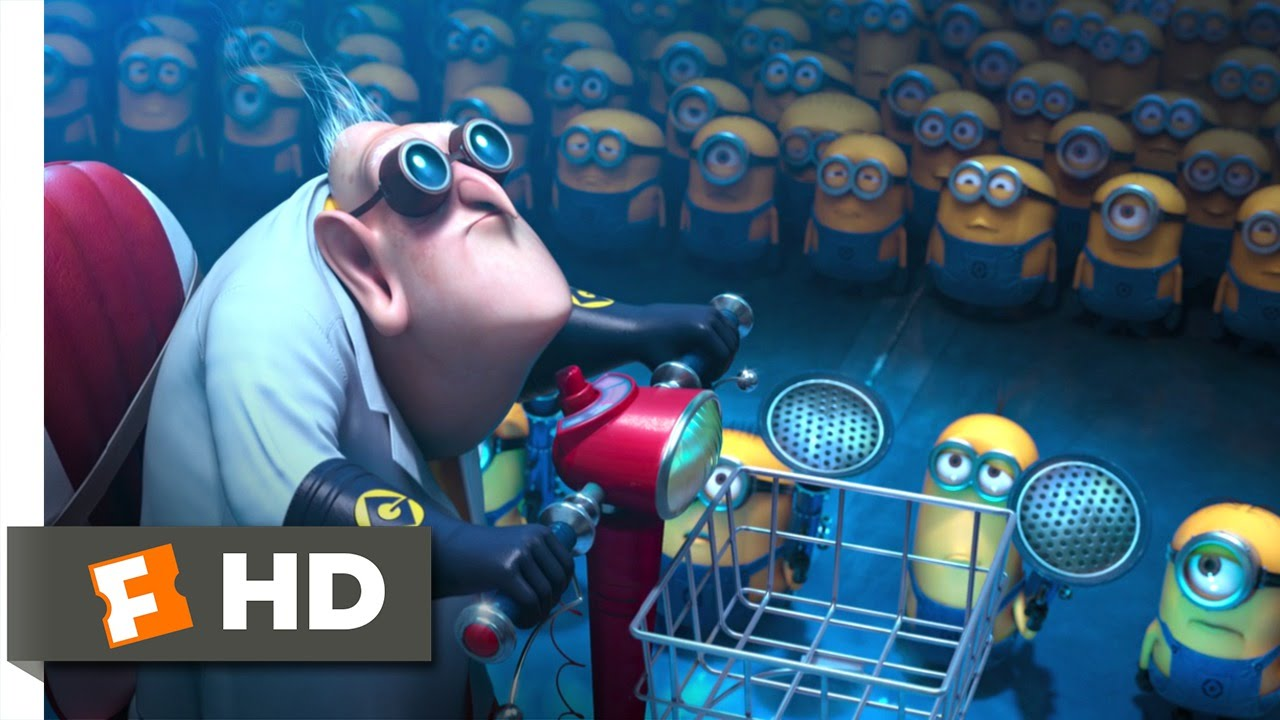Despicable Me 2 (3/10) Movie CLIP - Dr. Nefario Quits ...