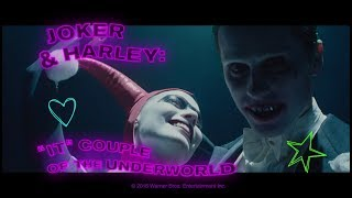 """Suicide Squad (2016) BLU-RAY EXTRAS — Joker & Harley: """"It"""" Couple of the Underworld"""