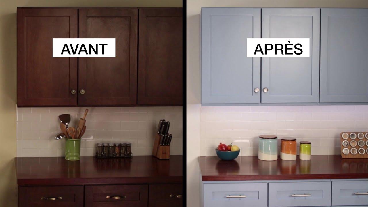 Comment Customiser Une Armoire kilzmd comment faire: refaire la finition des armoires de cuisine