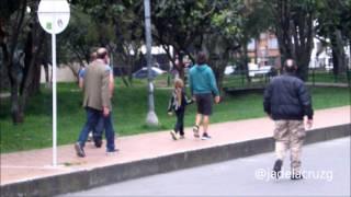 Anthony Kiedis en el Parque El virrey - Bogota 2014