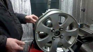 Правка литых дисков с Пежо.(первая часть)(, 2016-03-04T14:26:50.000Z)