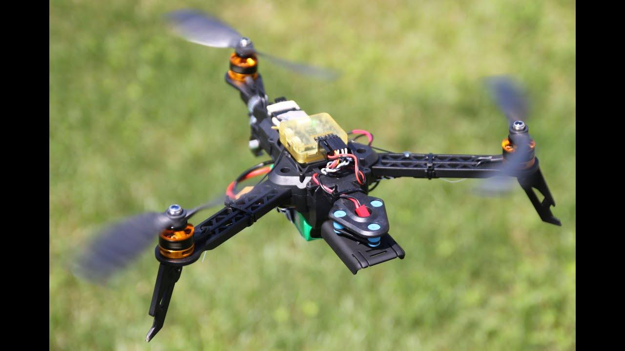 Quanum Trifecta Mini Foldable Tricopter Frame: Maiden Flight & PID ...