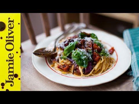 Smashed Tomato Pasta with Donal Skehan