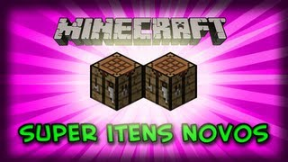 MINECRAFT MOD - SUPER crafting table!!!