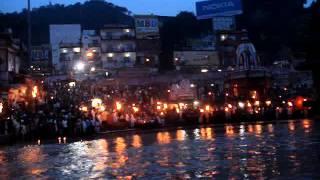Ganga Aarti...Aastha postKedarnath Havoc.