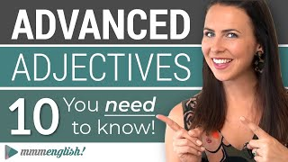 10 Advanced English Adjectives