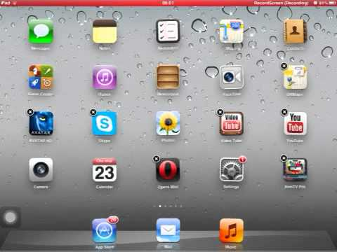 How to delete safari on IPAD,IPHONE AND IPOD TOUCH - YouTube