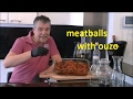 Meatballs with Ouzo, the best Greek recipe