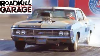 The Crusher Impala! New Engine and Burnouts   Roadkill Garage   MotorTrend