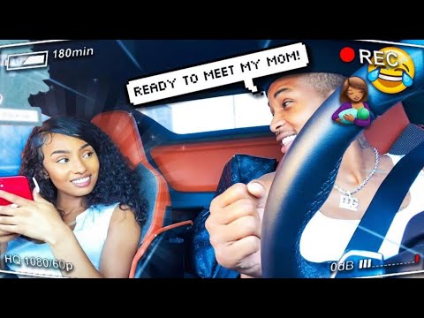 I took Rubi to meet my mom... Are we official??!