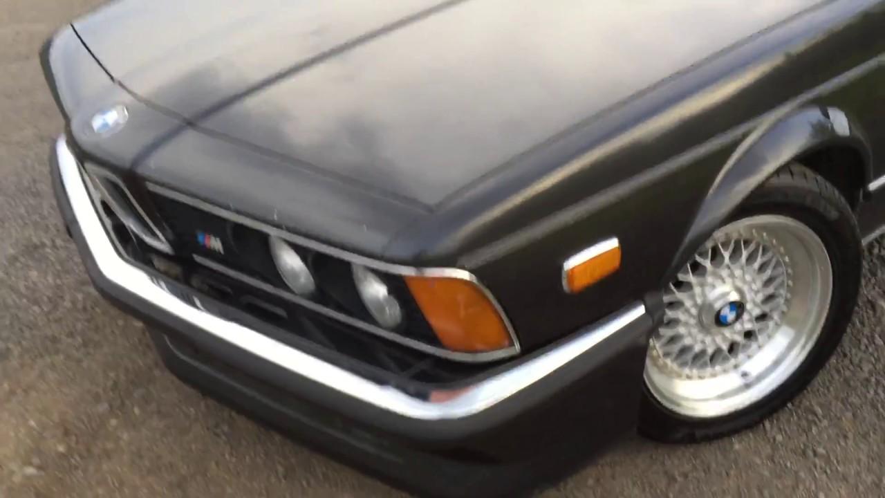 BMW Convertible 1985 bmw m635csi 1985 BMW M635CSI Euro walk-around - YouTube