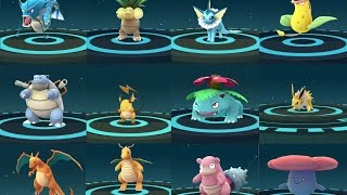EVOLUCIÓN POKÉMON GO AMAZING - TOP 12 RARE POKEMON EVOLVING