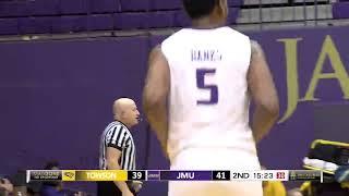 Highlights   JMU Men's Basketball vs. Towson