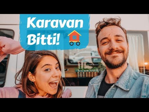 Karavan Yapımı: Mini Ev Turu & Dekorasyon - Trail of Us Vanlife #12