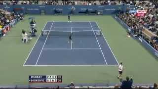 Andy Murray Fuck man Fuck After he lost the point us open 2012 final