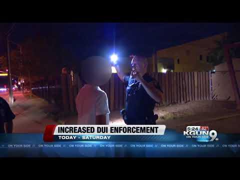 Tucson police department increases dui enforcement