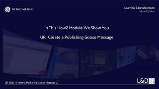 UR l 1025 إنشاء النشر أوزة رسالة v1