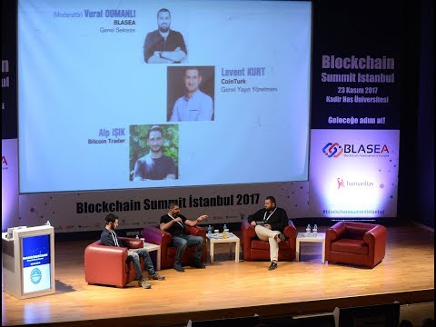 Bitcoin ve diğer tüm Kripto Paralar -  Blockchain Summit İstanbul 2017