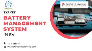 Battery Management System In Electrical Vehicle | TKR CET | PANTECH E LEARNING | AMEERPET