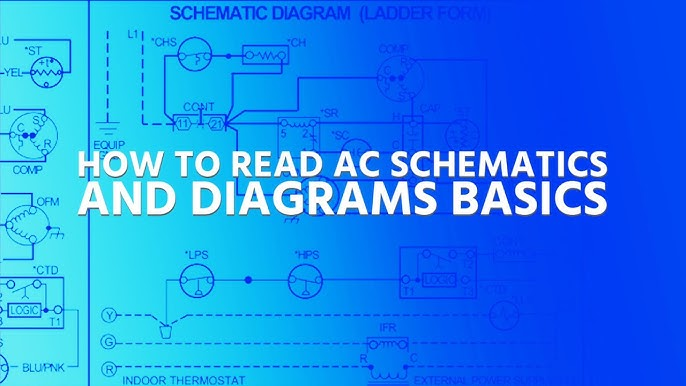 How to Read AC Schematics and Diagrams Basics - YouTube | Hvac Wiring Diagram Symbols Meanings |  | YouTube