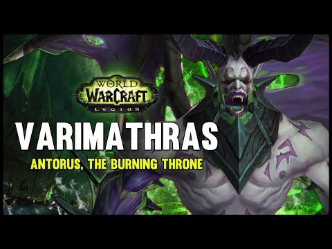 Varimathras - Antorus, the Burning Throne - 7.3 PTR - FATBOSS