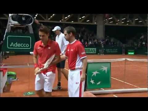 Davis Cup Highlights: Switzerland 0-5 USA