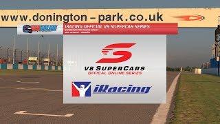 iRacing Official V8 Supercar Series - Round 9, Donington Park