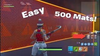How to get 500 mats for your scrims without infinite Resources (Fortnite)