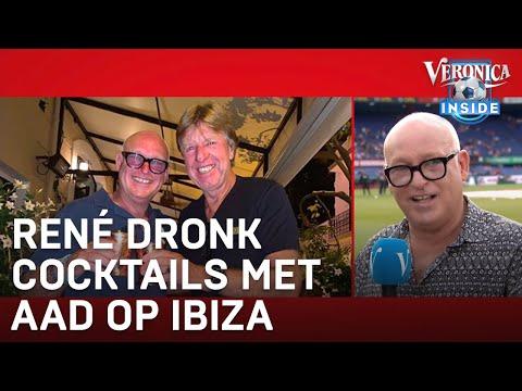 René dronk cocktails met Aad op Ibiza: 'Dan ben je helemaal de lul' | VERONICA INSIDE