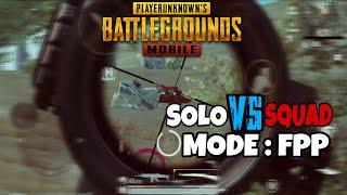 PLAYER BARBAR!! SOLO VS SQUAD!! FPP - PUBG MOBILE