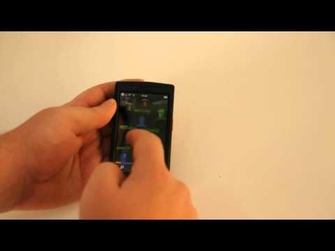 Vodafone 360 Samsung H1 demo