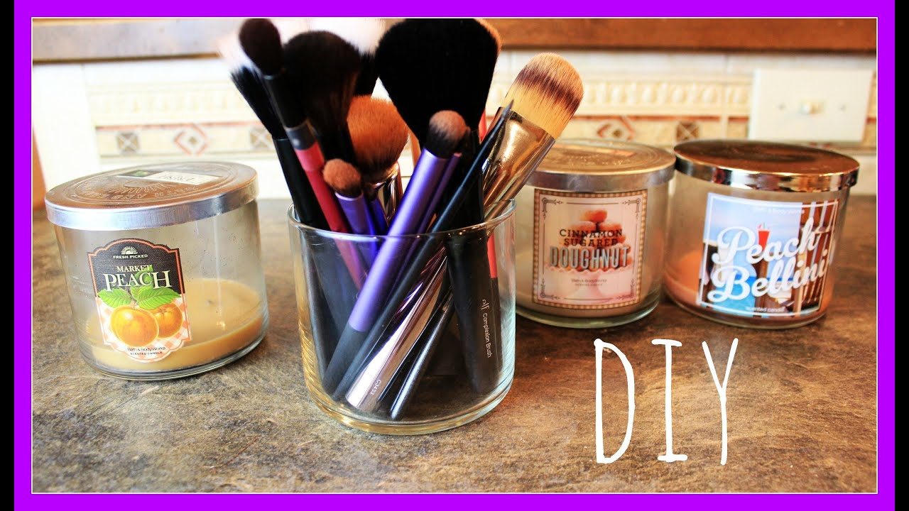 DIY Recycle Candle Jars - YouTube