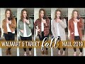 WALMART & TARGET FALL TRY-ON | FALL CLOTHING HAUL | NEW FALL 2019