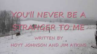 "Hoyt Johnson, You""ll never be a stranger to me"