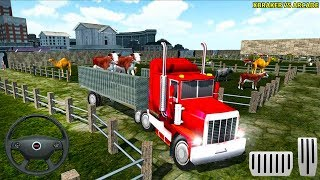 Farm Animal Truck Driving Transport Simulator Android GamePlay FHD