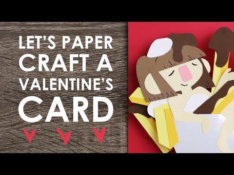 Let's Make: VALENTINE'S DAY CARD