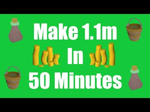 [OSRS] Make 1.1M in 50 Minutes with No Requirements - Oldschool Runescape Money Making Method!