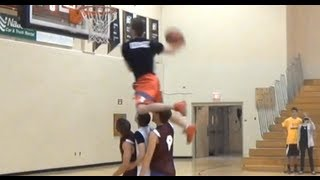 6'1 J-KILL does a Windmill over THREE People at Half Time Show:: Dubble up :: BTB and more!