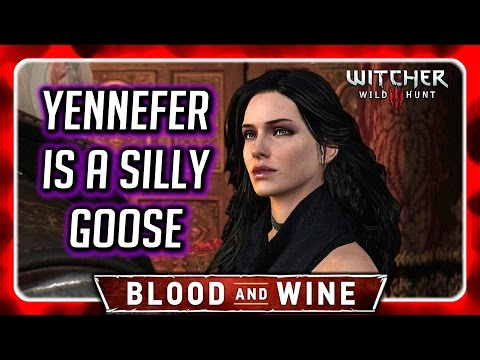 how to get ciri to visit blood and wine